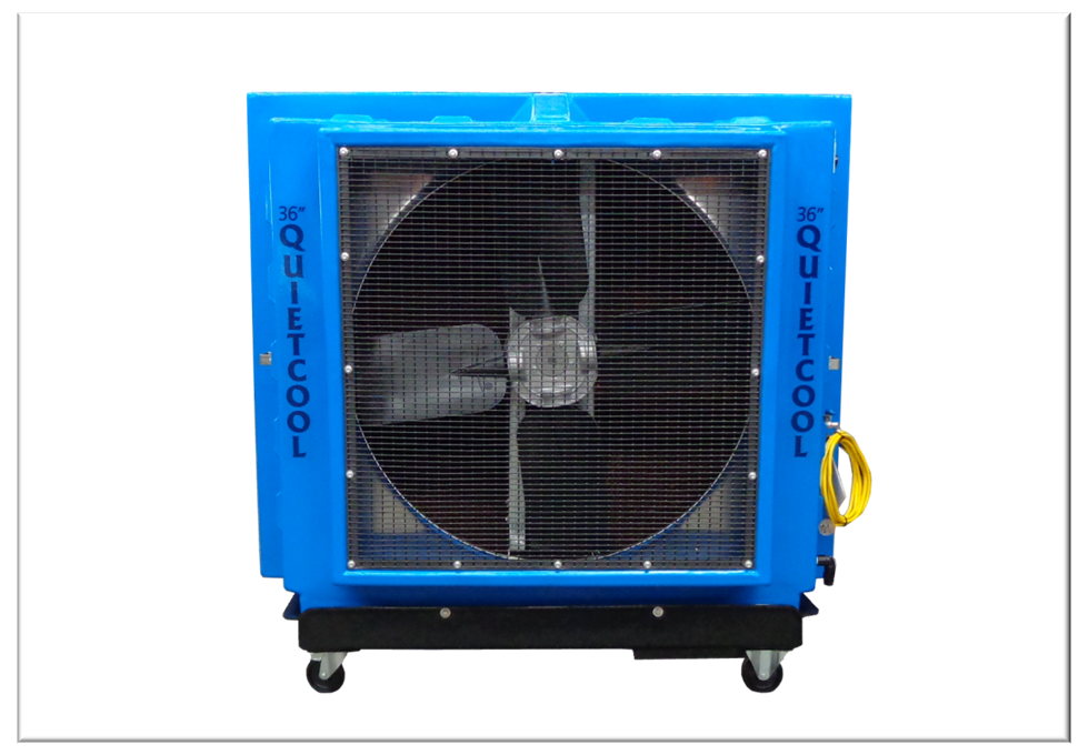 portable evaporative cooler quietcool industrial u0026 commercial cooling