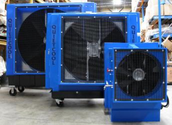 Portable Evaporative Cooler Quietcool Industrial